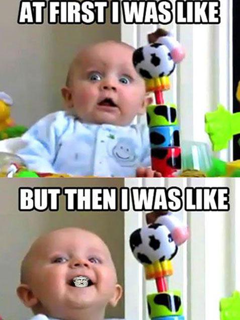 Woke Baby Aristotle Meme